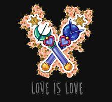 Love is Love - Sailor Uranus & Sailor Neptune / Sailor Moon Unisex T-Shirt