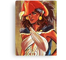 Admiral Isabela Canvas Print