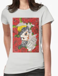 Bones & Roses Womens Fitted T-Shirt