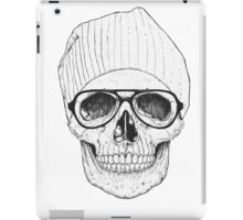 Hipster Old Skull iPad Case/Skin