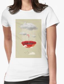 Saving the rain Womens Fitted T-Shirt