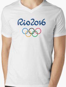 Rio 2016   Olympic Games  Mens V-Neck T-Shirt