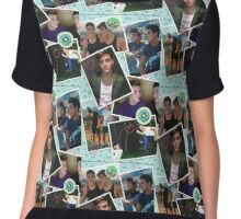 Dolan Twins photo collage Chiffon Top