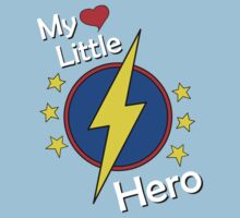 My Little Super Hero Kids & Baby One Piece - Short Sleeve