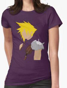 FunnyBONE Cloud-Based Womens Fitted T-Shirt