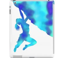 bouldering ecstacy (blue) iPad Case/Skin