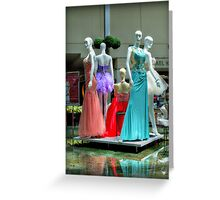 Elegance In The Middle Of The Wishing Pool Greeting Card