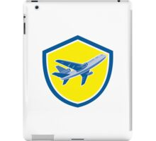 Commercial Airplane Jet Plane Airline Retro iPad Case/Skin