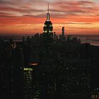 Empire State Building, NYC by Louise Bichan
