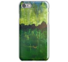 Green psycho iPhone Case/Skin