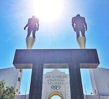 USC Olympic Coliseum  by ProjectSpearman