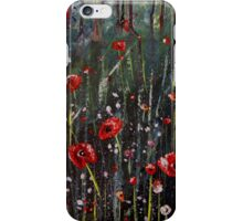 Big poppies iPhone Case/Skin