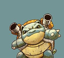 Blastoise:lv100 by GrizzlyJerr