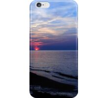 Blue Sunset iPhone Case/Skin
