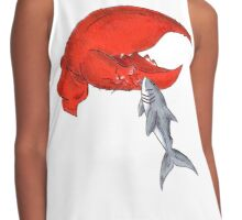 Great White Lobstah Lovah Contrast Tank