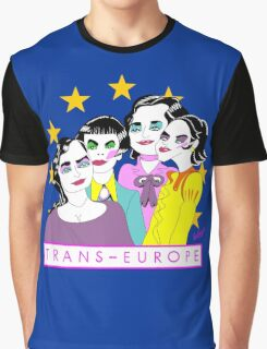 TRANS EUROPE Graphic T-Shirt