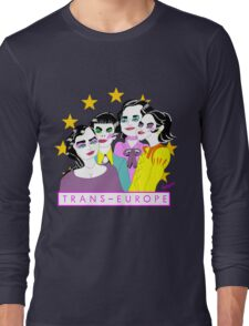 TRANS EUROPE Long Sleeve T-Shirt