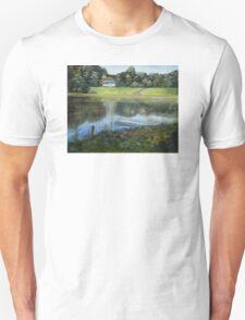 Rose Valley Lake Dock Unisex T-Shirt