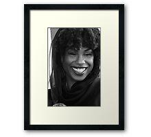 Black Goddess Framed Print