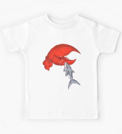 Great White Lobstah Lovah Kids Tee