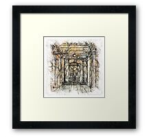 The Atlas of Dreams - Color Plate 201 Framed Print