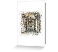 The Atlas of Dreams - Color Plate 201 Greeting Card