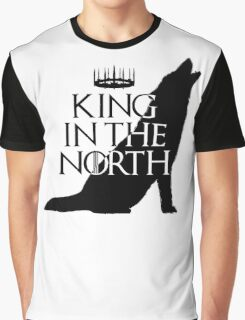 King In The North Graphic T-Shirt