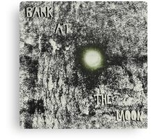 Bark at the Moon Canvas Print
