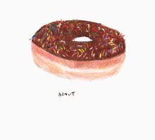Chocolate With Rainbow Sprinkles Donut Unisex T-Shirt