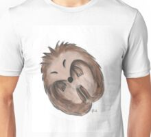 Sleeping hedgehog Unisex T-Shirt