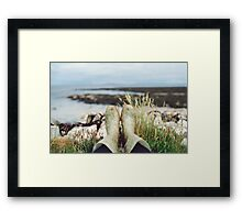 Wellies Framed Print