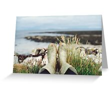 Wellies Greeting Card