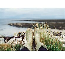 Wellies Photographic Print