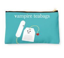More White Vampire FaceBags Studio Pouch
