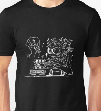 Rat Fink Style Monster & 1968 Camaro Unisex T-Shirt