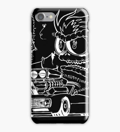 Rat Fink Style Monster & 1968 Camaro iPhone Case/Skin