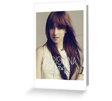 grimmie Greeting Card
