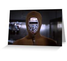 Robot Ninja Greeting Card