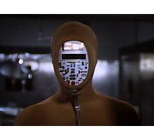 Robot Ninja Photographic Print