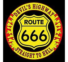 Route 666 Colour Photographic Print