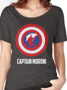 Mighty Captain Moroni T-Shirt Women's Relaxed Fit T-Shirt
