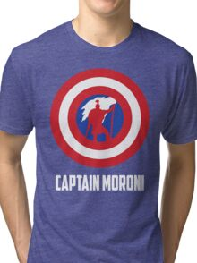 Mighty Captain Moroni T-Shirt Tri-blend T-Shirt