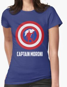 Mighty Captain Moroni T-Shirt Womens Fitted T-Shirt