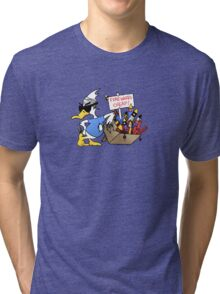 4th Of July Duck Tri-blend T-Shirt