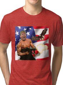 TRUMP'S 'MERICA.  Tri-blend T-Shirt