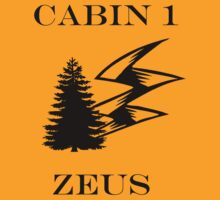 Camp Halfblood - Zeus Cabin by misseva228