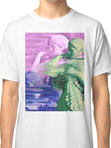 Vaporwave Glitch Classic T-Shirt