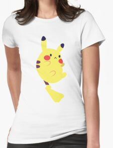 Pikachu! Womens Fitted T-Shirt