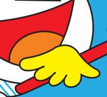 Cupid Doraemon Sticker