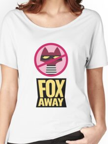 "Zootopia's ""Fox Away""  Women's Relaxed Fit T-Shirt"